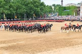 during The Colonel's Review {iptcyear4} (final rehearsal for Trooping the Colour, The Queen's Birthday Parade)  at Horse Guards Parade, Westminster, London, 2 June 2018, 12:04.
