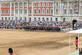 during The Colonel's Review {iptcyear4} (final rehearsal for Trooping the Colour, The Queen's Birthday Parade)  at Horse Guards Parade, Westminster, London, 2 June 2018, 12:06.