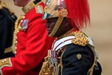during The Colonel's Review {iptcyear4} (final rehearsal for Trooping the Colour, The Queen's Birthday Parade)  at Horse Guards Parade, Westminster, London, 2 June 2018, 12:14.