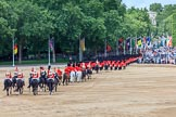 during The Colonel's Review {iptcyear4} (final rehearsal for Trooping the Colour, The Queen's Birthday Parade)  at Horse Guards Parade, Westminster, London, 2 June 2018, 12:17.
