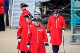 during The Colonel's Review {iptcyear4} (final rehearsal for Trooping the Colour, The Queen's Birthday Parade)  at Horse Guards Parade, Westminster, London, 2 June 2018, 12:18.
