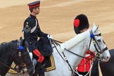 during Trooping the Colour {iptcyear4}, The Queen's Birthday Parade at Horse Guards Parade, Westminster, London, 9 June 2018, 09:28.
