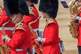 during Trooping the Colour {iptcyear4}, The Queen's Birthday Parade at Horse Guards Parade, Westminster, London, 9 June 2018, 10:19.