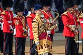 during Trooping the Colour 2018, The Queen's Birthday Parade at Horse Guards Parade, Westminster, London, 9 June 2018, 10:19.