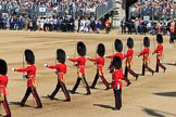 during Trooping the Colour {iptcyear4}, The Queen's Birthday Parade at Horse Guards Parade, Westminster, London, 9 June 2018, 10:41.