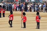 during Trooping the Colour {iptcyear4}, The Queen's Birthday Parade at Horse Guards Parade, Westminster, London, 9 June 2018, 10:42.