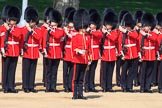 during Trooping the Colour {iptcyear4}, The Queen's Birthday Parade at Horse Guards Parade, Westminster, London, 9 June 2018, 10:43.