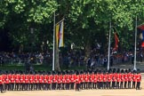 during Trooping the Colour {iptcyear4}, The Queen's Birthday Parade at Horse Guards Parade, Westminster, London, 9 June 2018, 10:44.