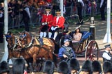 during Trooping the Colour {iptcyear4}, The Queen's Birthday Parade at Horse Guards Parade, Westminster, London, 9 June 2018, 10:48.