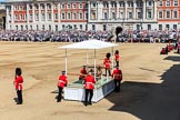 during Trooping the Colour {iptcyear4}, The Queen's Birthday Parade at Horse Guards Parade, Westminster, London, 9 June 2018, 10:52.