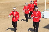 during Trooping the Colour {iptcyear4}, The Queen's Birthday Parade at Horse Guards Parade, Westminster, London, 9 June 2018, 10:53.