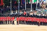 during Trooping the Colour {iptcyear4}, The Queen's Birthday Parade at Horse Guards Parade, Westminster, London, 9 June 2018, 10:54.