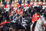 during Trooping the Colour {iptcyear4}, The Queen's Birthday Parade at Horse Guards Parade, Westminster, London, 9 June 2018, 11:01.