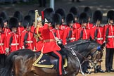 during Trooping the Colour {iptcyear4}, The Queen's Birthday Parade at Horse Guards Parade, Westminster, London, 9 June 2018, 11:02.