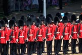 during Trooping the Colour {iptcyear4}, The Queen's Birthday Parade at Horse Guards Parade, Westminster, London, 9 June 2018, 11:03.