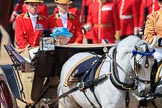 during Trooping the Colour {iptcyear4}, The Queen's Birthday Parade at Horse Guards Parade, Westminster, London, 9 June 2018, 11:04.