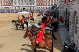 during Trooping the Colour {iptcyear4}, The Queen's Birthday Parade at Horse Guards Parade, Westminster, London, 9 June 2018, 11:08.