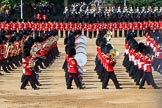 during Trooping the Colour {iptcyear4}, The Queen's Birthday Parade at Horse Guards Parade, Westminster, London, 9 June 2018, 11:09.