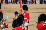during Trooping the Colour {iptcyear4}, The Queen's Birthday Parade at Horse Guards Parade, Westminster, London, 9 June 2018, 11:10.