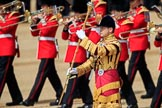 during Trooping the Colour {iptcyear4}, The Queen's Birthday Parade at Horse Guards Parade, Westminster, London, 9 June 2018, 11:11.