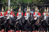 during Trooping the Colour {iptcyear4}, The Queen's Birthday Parade at Horse Guards Parade, Westminster, London, 9 June 2018, 11:12.