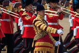 during Trooping the Colour {iptcyear4}, The Queen's Birthday Parade at Horse Guards Parade, Westminster, London, 9 June 2018, 11:13.