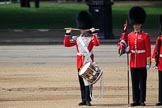 during Trooping the Colour {iptcyear4}, The Queen's Birthday Parade at Horse Guards Parade, Westminster, London, 9 June 2018, 11:15.