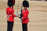 during Trooping the Colour {iptcyear4}, The Queen's Birthday Parade at Horse Guards Parade, Westminster, London, 9 June 2018, 11:20.