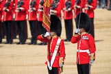 during Trooping the Colour {iptcyear4}, The Queen's Birthday Parade at Horse Guards Parade, Westminster, London, 9 June 2018, 11:22.