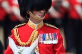 during Trooping the Colour {iptcyear4}, The Queen's Birthday Parade at Horse Guards Parade, Westminster, London, 9 June 2018, 11:25.
