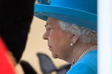 during Trooping the Colour {iptcyear4}, The Queen's Birthday Parade at Horse Guards Parade, Westminster, London, 9 June 2018, 11:28.