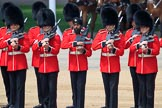 during Trooping the Colour {iptcyear4}, The Queen's Birthday Parade at Horse Guards Parade, Westminster, London, 9 June 2018, 11:30.