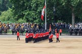 during Trooping the Colour {iptcyear4}, The Queen's Birthday Parade at Horse Guards Parade, Westminster, London, 9 June 2018, 11:32.