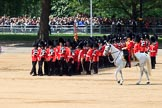 during Trooping the Colour {iptcyear4}, The Queen's Birthday Parade at Horse Guards Parade, Westminster, London, 9 June 2018, 11:33.
