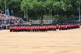 during Trooping the Colour {iptcyear4}, The Queen's Birthday Parade at Horse Guards Parade, Westminster, London, 9 June 2018, 11:34.