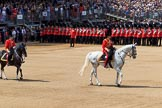 during Trooping the Colour {iptcyear4}, The Queen's Birthday Parade at Horse Guards Parade, Westminster, London, 9 June 2018, 11:35.