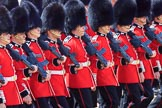 during Trooping the Colour {iptcyear4}, The Queen's Birthday Parade at Horse Guards Parade, Westminster, London, 9 June 2018, 11:48.