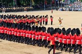 during Trooping the Colour {iptcyear4}, The Queen's Birthday Parade at Horse Guards Parade, Westminster, London, 9 June 2018, 11:49.