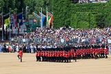 during Trooping the Colour {iptcyear4}, The Queen's Birthday Parade at Horse Guards Parade, Westminster, London, 9 June 2018, 11:52.