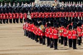 during Trooping the Colour {iptcyear4}, The Queen's Birthday Parade at Horse Guards Parade, Westminster, London, 9 June 2018, 11:53.