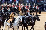 during Trooping the Colour {iptcyear4}, The Queen's Birthday Parade at Horse Guards Parade, Westminster, London, 9 June 2018, 11:58.