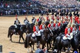 during Trooping the Colour {iptcyear4}, The Queen's Birthday Parade at Horse Guards Parade, Westminster, London, 9 June 2018, 11:59.