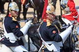 during Trooping the Colour {iptcyear4}, The Queen's Birthday Parade at Horse Guards Parade, Westminster, London, 9 June 2018, 12:00.