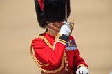 during Trooping the Colour {iptcyear4}, The Queen's Birthday Parade at Horse Guards Parade, Westminster, London, 9 June 2018, 12:12.