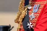 during Trooping the Colour {iptcyear4}, The Queen's Birthday Parade at Horse Guards Parade, Westminster, London, 9 June 2018, 12:16.