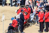 during Trooping the Colour {iptcyear4}, The Queen's Birthday Parade at Horse Guards Parade, Westminster, London, 9 June 2018, 12:18.