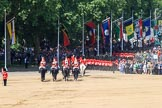 during Trooping the Colour {iptcyear4}, The Queen's Birthday Parade at Horse Guards Parade, Westminster, London, 9 June 2018, 12:19.