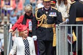 during Trooping the Colour {iptcyear4}, The Queen's Birthday Parade at Horse Guards Parade, Westminster, London, 9 June 2018, 12:21.