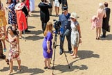 during Trooping the Colour {iptcyear4}, The Queen's Birthday Parade at Horse Guards Parade, Westminster, London, 9 June 2018, 12:33.
