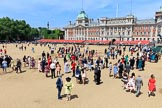 during Trooping the Colour {iptcyear4}, The Queen's Birthday Parade at Horse Guards Parade, Westminster, London, 9 June 2018, 12:36.